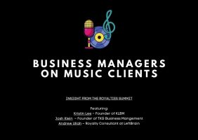 Business Managers on Music Clients
