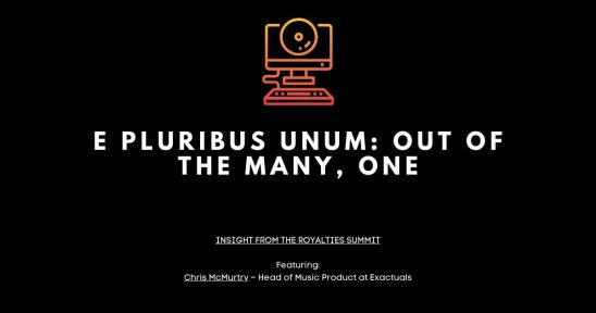 E Pluribus Unum Out of the Many One