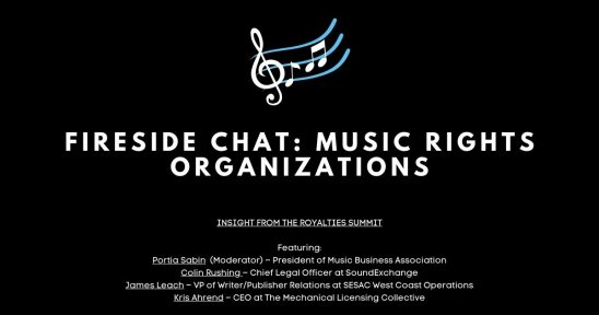 Fireside Chat Music Rights Organizations 1 1